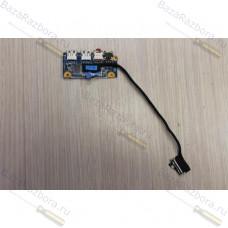 1p-1107201-8011 Плата USB, audio с шлейфом Sony Vaio PCG-81211V