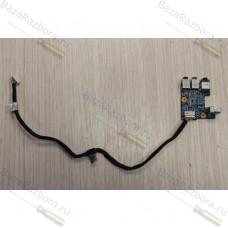 1p-1072500-8010 Плата USB и аудио разъемов с кабелем Sony Vaio PCG-8113P
