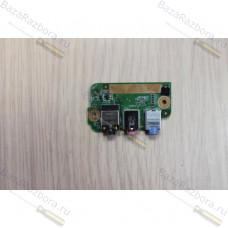 48.4z504.02m Плата аудио разъема для ноутбука Acer Aspire 5730