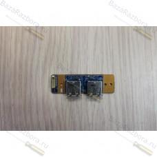 1p-1079501-8010 Плата USB разъемов для ноутбука Sony Vaio VGN-NR21SR PCG-7121P PCG-7135 CNX-403