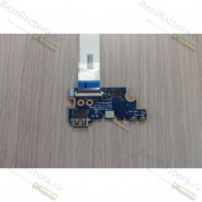 CSL50 LS-E795P Rev:2.0 Боковой разъем юсб, картридер для ноутбука HP 250 G6, HP 255 G6