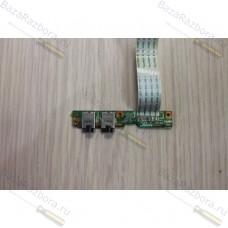 50.4d021.001 Плата аудиорзъёмов для ноутбука HP Compaq G50 G60 CQ50 CQ60