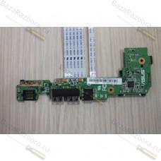 1015px_io_board 60-OA3KIO4000 Плата дополнительных разъёмов для ноутбука Asus Eee PC 1015BX