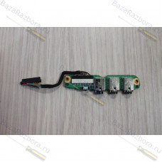 da0at3ab8d0 Плата аудио разъема для ноутбука HP Pavilion DV6000, DV6500