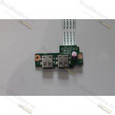 010194f00-491-g Плата с разьемами USB для ноутбука HP 15-D