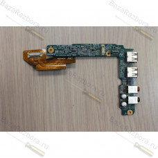 1p-1076101-8010 Плата USB и AUDIO разъемов для ноутбука Sony Vaio VGN-FZ31SR VGN-FZ31mR