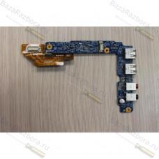 1p-1076501-8010 Плата USB и AUDIO разъемов для ноутбука Sony Vaio VGN-FZ PCG-392M