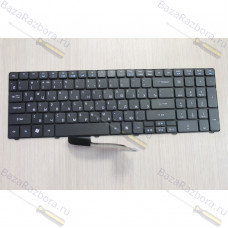 Клавиатура для ноутбука Acer Aspire 5810T, 5410T, 5536, 5536G, 5738, 5800, 5820, 5739 черная 002179